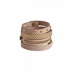 Pieces Satilo Leather (SORT, s-m)