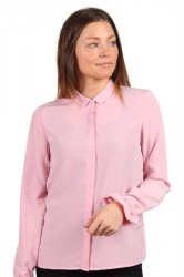 Pieces - Skjorte - PC Frederikke LS Shirt - Cameo Pink