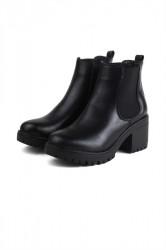 Pieces - Sko - PS Ditte Boot - Black