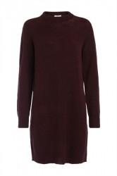 Pieces - Strik - PC Jane LS Long Wool Knit - Port Royal