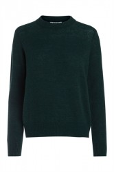 Pieces - Strik - PC Jane LS Wool Knit - Ponderosa