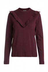 Pieces - Strik - PC Jolanda LS Knit - Port Royale