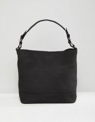 Pieces Structured Shoulder Bag - Black