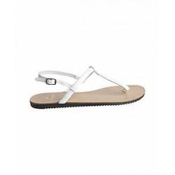 Pieces Taha Leather Sandal (HVID, 41)