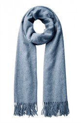 Pieces - Tørklæde - PC Jira Wool Scarf - Flint Stone