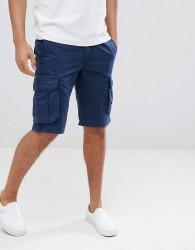 Pier One Cargo Shorts In Blue - Blue