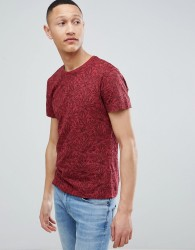 Pier One Floral Print T-Shirt In Red - Red
