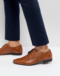 Pier One Leather Derby Shoes in Tan - Tan