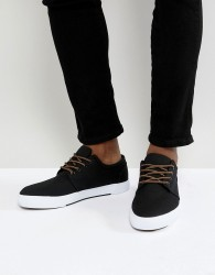 Pier One Plimsolls In Black - Black