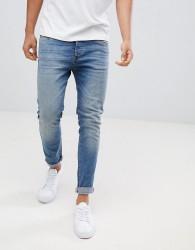 Pier One Slim Fit Jeans In Light Blue - Blue