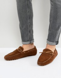 Pier One Suede Drivers In Tan - Tan