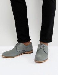 Pier One Suede Lace Up Shoes In Grey - Grey
