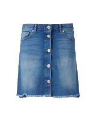 Pieszak Diva Swan Denim Skirt (DENIM, 36)