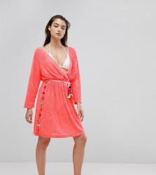 Pitusa Santorini Beach Dress - Pink