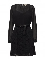 Pleated Lace Mix Drs