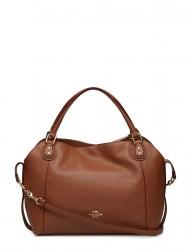 Polished Pebble Lthr Edie 28 Shoulder Bag