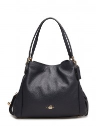 Polished Pebble Lthr Edie 31 Shoulder Bag