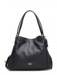Polished Pebble Lthr Edie 31 Shoulder Bag