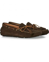 Polo Ralph Lauren Anders Tassel Driving Shoe Brown Suede men US7 - EU40 Brun