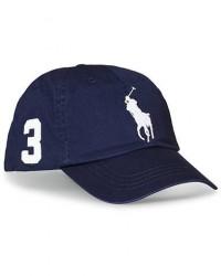 Polo Ralph Lauren Big Pony Cap Newport Navy men One size Blå