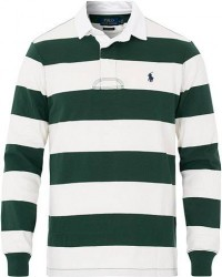 Polo Ralph Lauren Block Stripe Rugger Vintage Pine/White men M Hvid