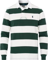 Polo Ralph Lauren Block Stripe Rugger Vintage Pine/White men S Hvid