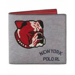 Polo Ralph Lauren Bulldog Wallet Heather Grey