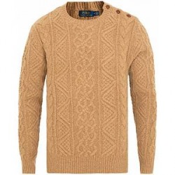 Polo Ralph Lauren Cable Sweater Camel