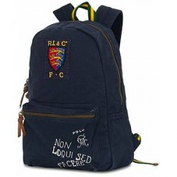 Polo Ralph Lauren Canvas Backpack Navy