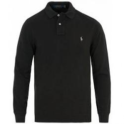 Polo Ralph Lauren Core Fit Long Sleeve Polo Polo Black