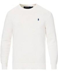 Polo Ralph Lauren Cotton Crew Neck Pullover White men S Hvid