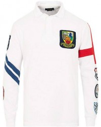 Polo Ralph Lauren Crest Rugby Classic White men S
