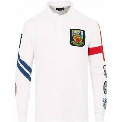 Polo Ralph Lauren Crest Rugby Classic White