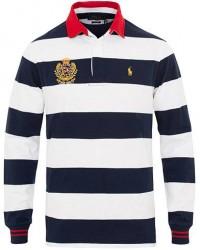 Polo Ralph Lauren Crest Stripe Rugger White/Navy men L