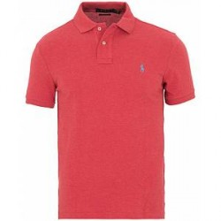 Polo Ralph Lauren Custom Fit Polo Red Heather