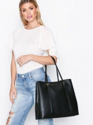 Polo Ralph Lauren Lennox Tote Large Håndtaske Sort