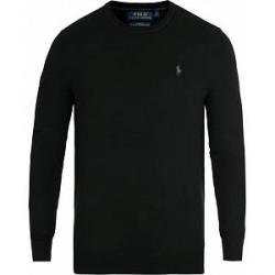 Polo Ralph Lauren Merino Crew Neck Pullover Black