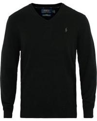 Polo Ralph Lauren Merino V Neck Pullover Black men XXL