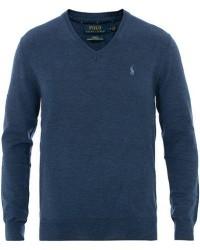 Polo Ralph Lauren Merino V Neck Pullover Blue men M