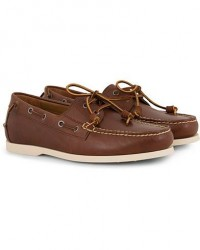 Polo Ralph Lauren Merton Calf Deckshoes Deep Saddle Tan
