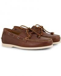 Polo Ralph Lauren Merton Calf Deckshoes Deep Saddle Tan men US8 - EU41 Brun