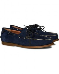 Polo Ralph Lauren Merton Deckshoes Newport Navy Suede men US13 - EU46 Blå