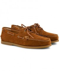Polo Ralph Lauren Merton Suede Deckshoes New Snuff men US13 - EU46