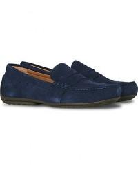 Polo Ralph Lauren Reynold Driving Loafer Navy Suede men US12 - EU45 Blå