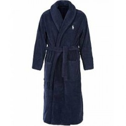 Polo Ralph Lauren Shawl Robe Navy