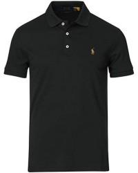 Polo Ralph Lauren Slim Fit Pima Cotton Polo Polo Black men S Sort