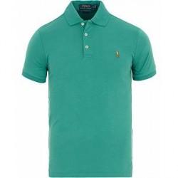 Polo Ralph Lauren Slim Fit Pima Polo Dever Green