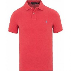 Polo Ralph Lauren Slim Fit Polo Centry Red Heather