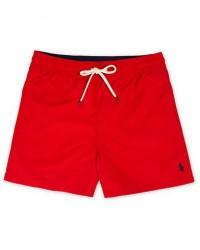 Polo Ralph Lauren Slim Short Traveler Swimshorts Red men S Rød