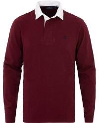 Polo Ralph Lauren Solid Rugger Wine Red men M